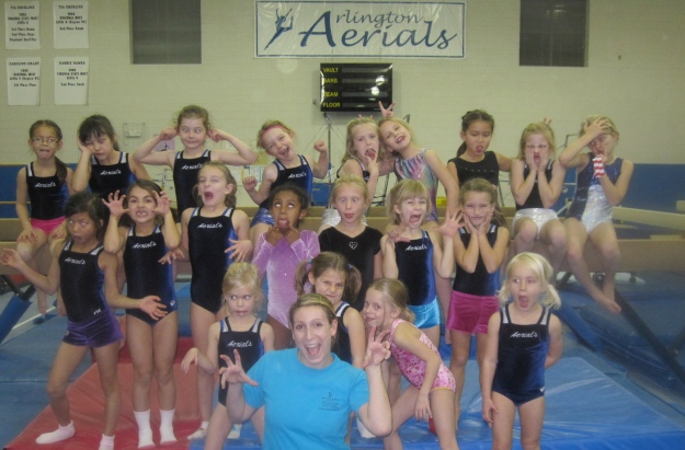 Gymnastic Coaching Pic